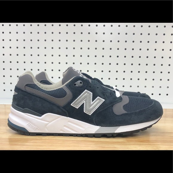 separation shoes 47fb8 e033a New Balance 999 M999CBL Made In USA Navy Shoes